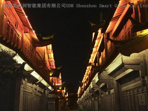 城市夜游亮化工程思迪恩简述照明系统的安-全防护设计之应急照明
