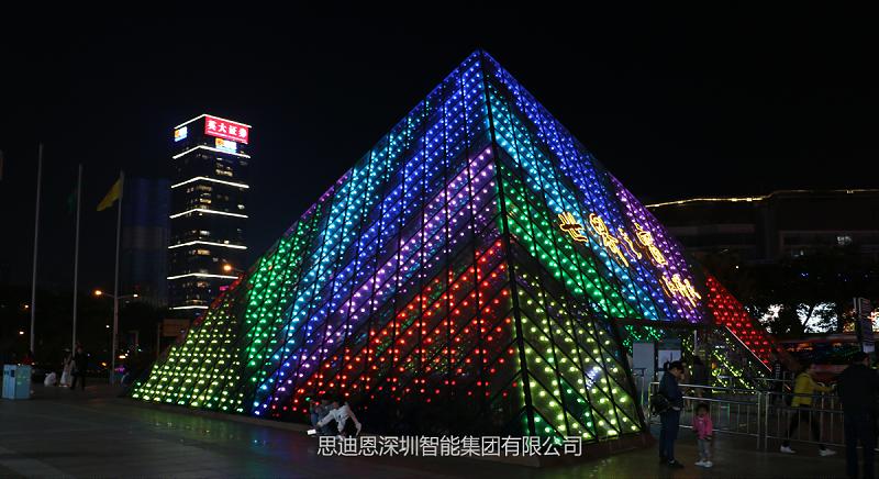 积极参与深圳世界之窗夜景景观与亮化工程设计提升-2