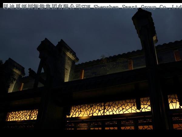 古城夜游亮化工程商思迪恩简述各类灯具的选型之各种场所灯具选择