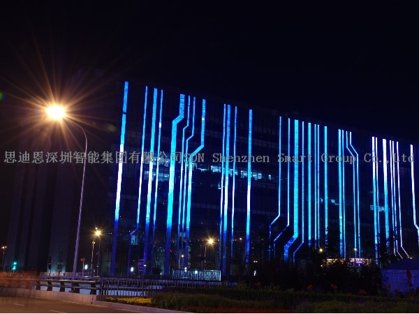 夜游亮化工程设计思迪恩简述灯具机械结构之连接件和密封压盖