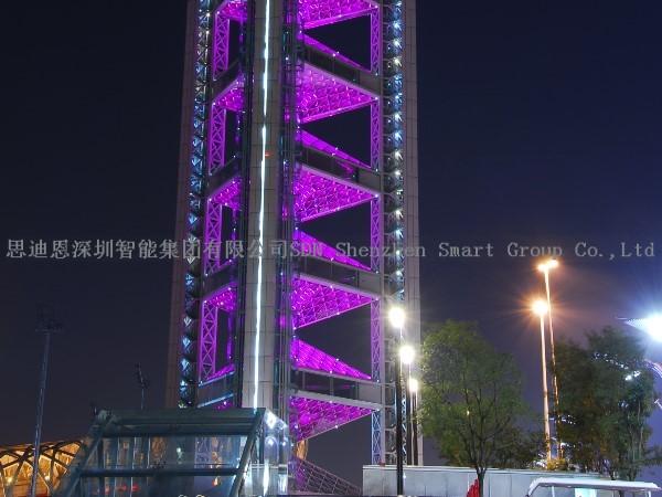 夜游城市亮化工程公司思迪恩简述应急照明设计之指示标志灯的布置