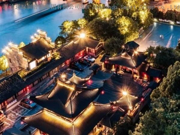 古镇夜游亮化商-思迪恩简述城市功能照明设计优化之照明监控系统