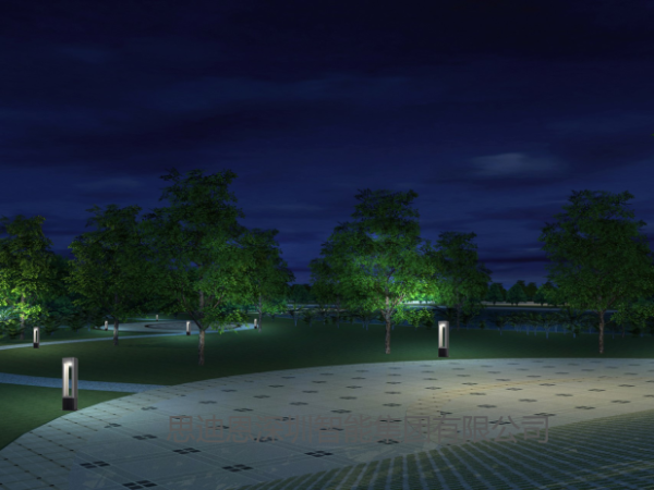 思迪恩公司在公园绿地上植物泛光照明规划控制导则-续