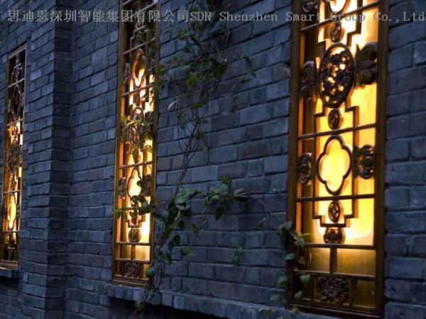 古城夜游亮化工程商思迪恩简述各类灯具的选型之灯具选用的一般原则