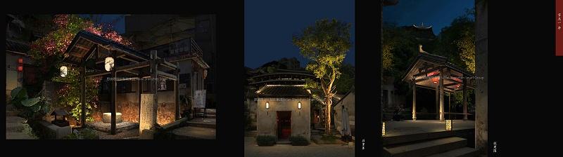 回现深圳甘坑客家小镇亮化工程中亮化设计脉络05