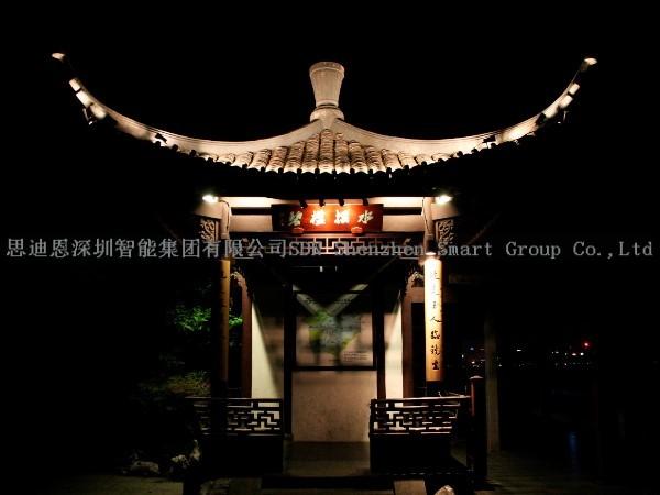 夜游照明亮化工程-思迪恩简述应急照明设计之安-全照明设计