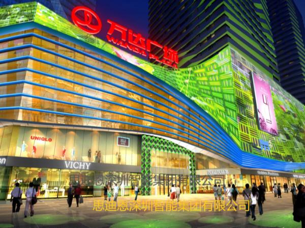 景观照明设计之市民广场(续)