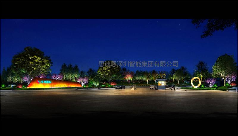 景观照明设计之城市广场-4