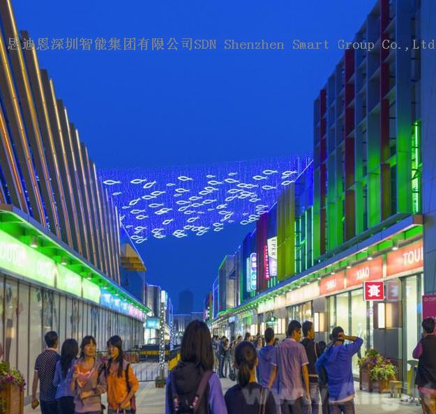 商业街夜游亮化工程思迪恩简述技术交底之设计交底