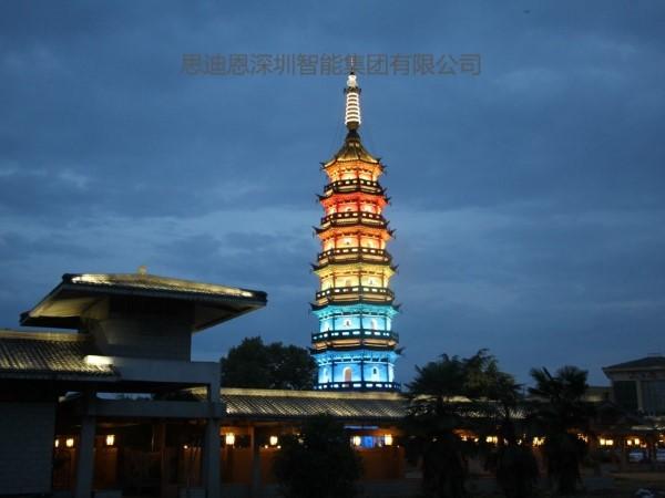 夜游亮化工程商思迪恩简述文化特色建设与城市照明