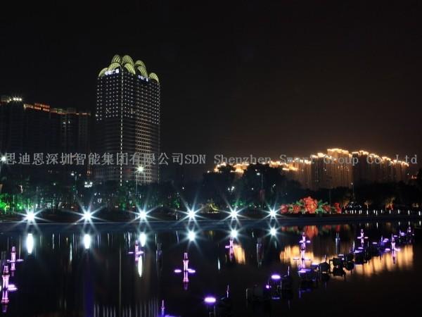 古城夜游亮化--思迪恩简述交通性道路照明设计之高杆照明