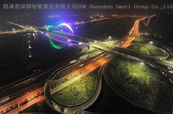 古城夜游亮化商思迪恩简述交通广场景观照明设计注意事项