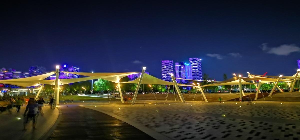 智慧夜游灯光秀城市夜景3