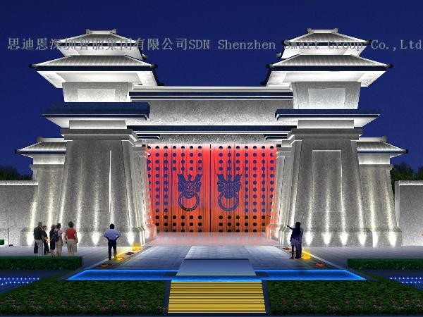 乐园夜游亮化公司思迪恩简述航站楼照明供电系统设计