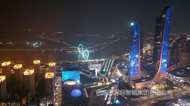 思迪恩公司在城市景观亮化照明设计时光的强度控制基本原则