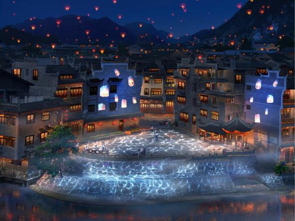 夜游亮化工程商对城市夜景观与意象的简析(续1)