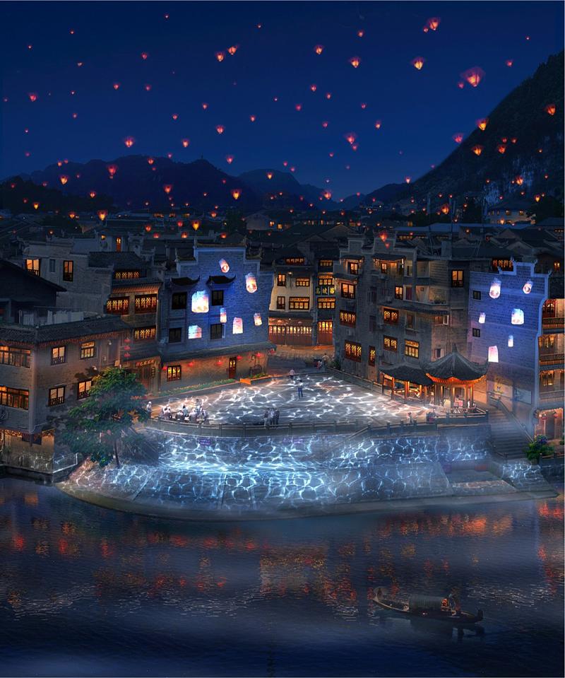 夜游亮化工程商思迪恩人对城市夜景观与意象的简析(续1)