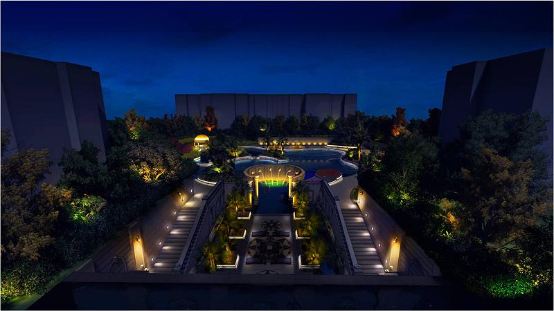 思迪恩公司对城市夜景覌景點的选择