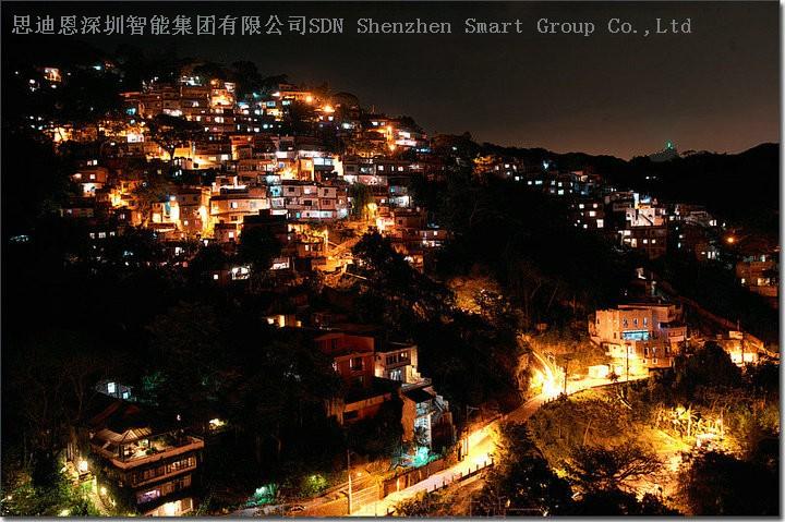 街区夜游亮化商思迪恩简述绿地公园植物景观照明设计之照明方式