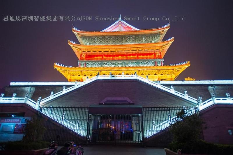 古城夜游亮化工程商思迪恩简述照明线路的保护之室外照明的防护