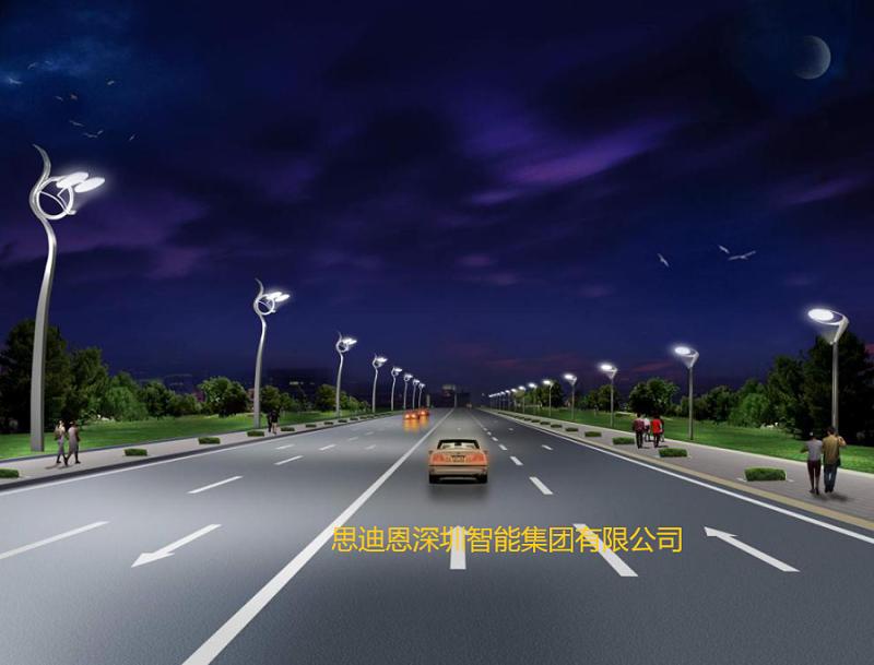 景观照明设计之人行道的夜景观规划设计-3