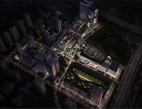 深圳帼际艺展艺术小镇灯光设计与照明工程终获帼际奖-1