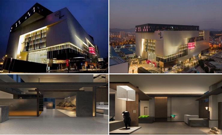 深圳帼际艺展艺术小镇灯光设计与照明工程终获帼际奖-2