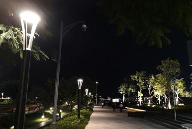 思迪恩小镇乡村照明亮化