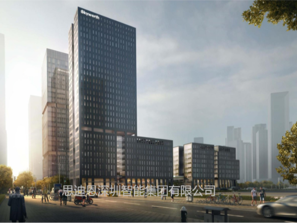 思迪恩景观亮化照明总体规划之突出城市结构--线